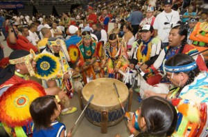 The-drum-groups-are-the-heart-of-all-powwows-and-provide-the-pulsating-and-thunderous-beats-that-accompany-a-dancers-every-movement