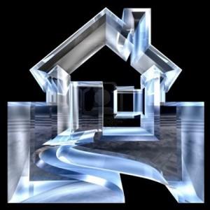 Maison en verre
