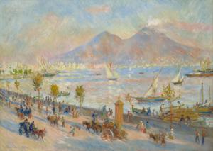 La baie de Naples,le soir 1881