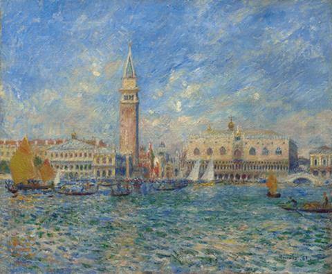 Palais de Doges a Venise 1881