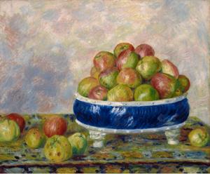 Pommes dans un compotier 1883