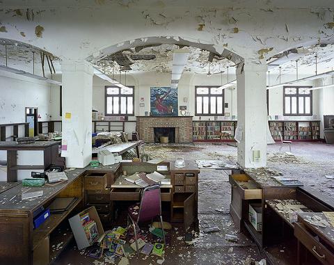 Była biblioteka,Publiczna czytelnia