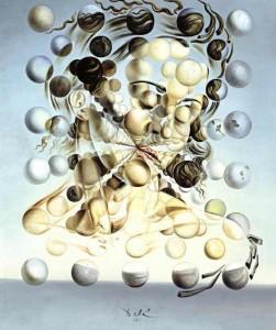 Dali,Galatée aux sphères