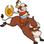 png_5139-Cowboy-Riding-Bull-In-Rodeo-Royalty-Free-RF-Clipart-Image