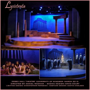 Lysistrata.David Court,scenic art&design