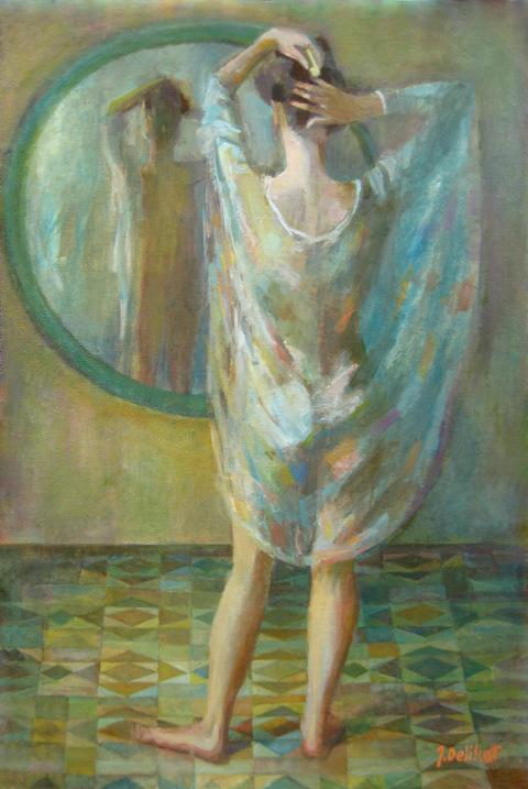WOMAN II 36x24 J.Delikat