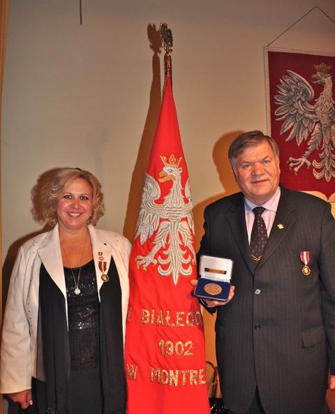 Medal intronizacji jubileusz 60-ciolecia.Medal Zgromadzenia Narodowego 2012